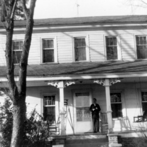 Front view, Julian House, Franklinville, North Carolina