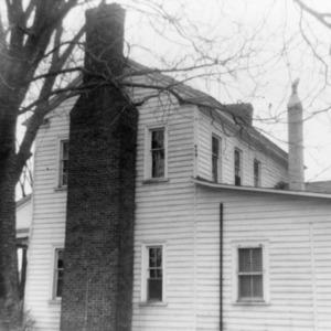 Side view, Julian House, Franklinville, North Carolina