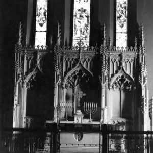 Altar, Christ Church, Raleigh, North Carolina