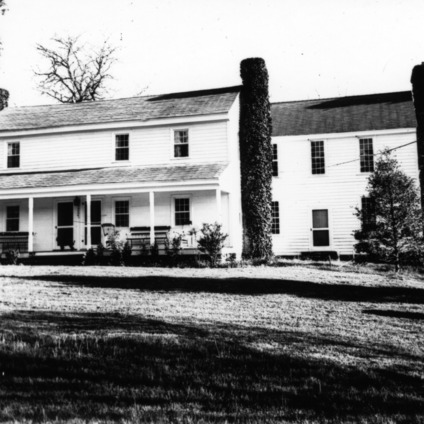 Front view, Chatwood, Hillsborough, North Carolina