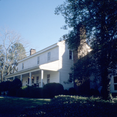 View, Faucette House (Chatwood), Orange County, North Carolina