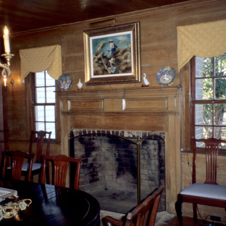 Interior view, Faucette House (Chatwood), Orange County, North Carolina