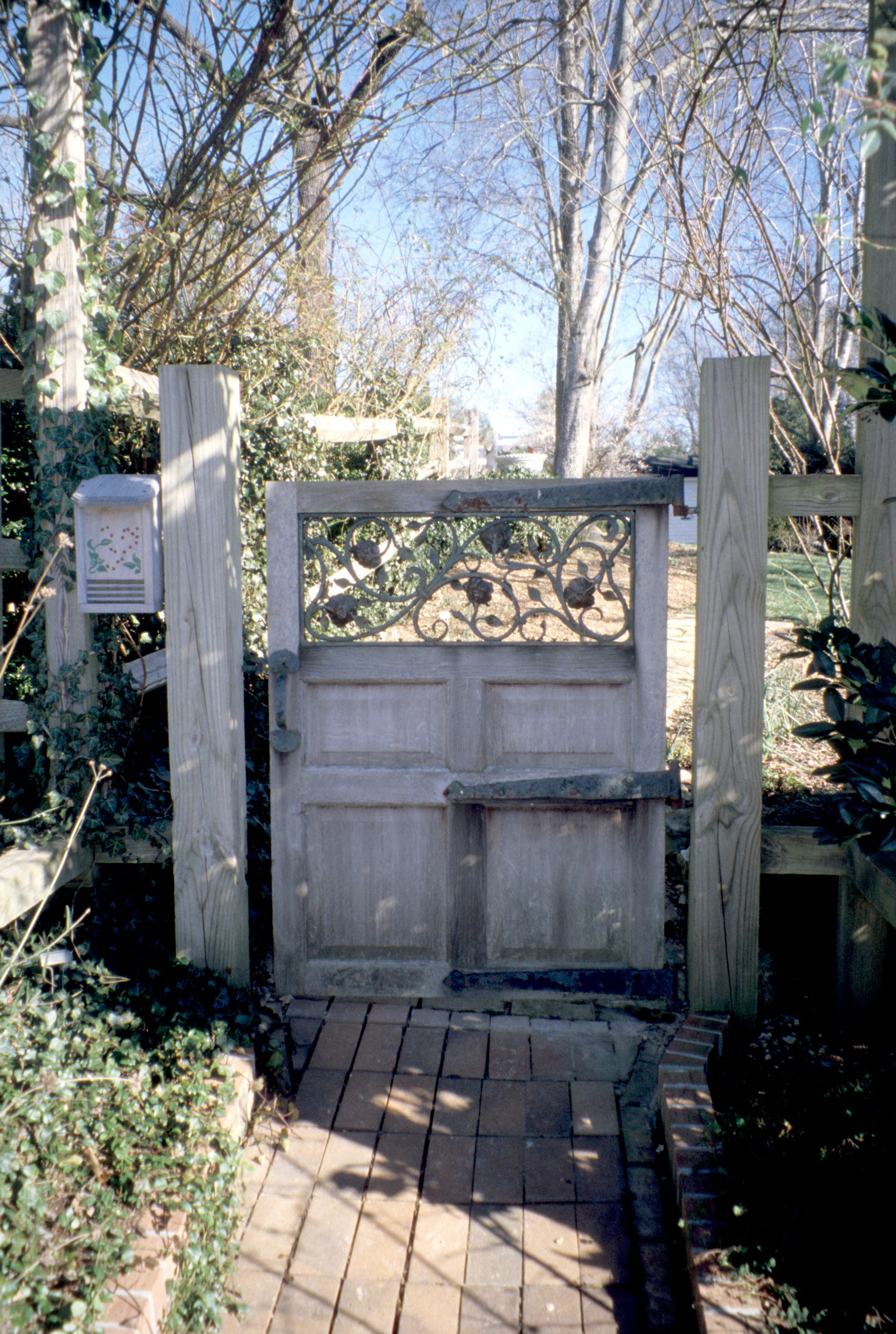 Gate, Faucette House (Chatwood), Orange County, North Carolina