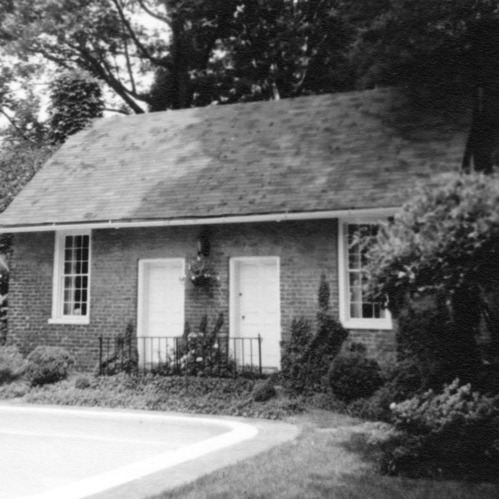 Front view, Hill-Webb House Kitchen, Hillsborough, North Carolina