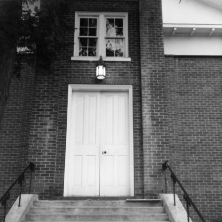Doors, Hillsborough Methodist Church, Hillsborough, North Carolina