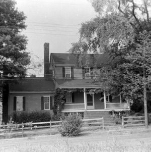 Front view, Seven Hearths, Hillsborough, North Carolina