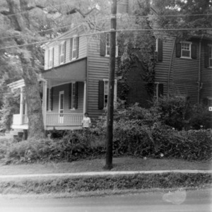 Side view, Seven Hearths, Hillsborough, North Carolina