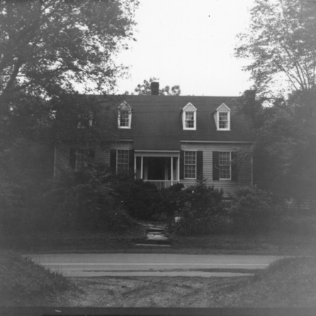 Front view, Walker-Palmer House, Hillsborough, North Carolina