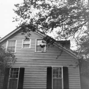Side view, Walker-Palmer House, Hillsborough, North Carolina