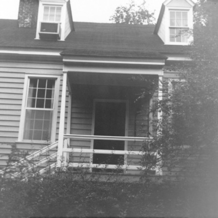 Rear view, Walker-Palmer House, Hillsborough, North Carolina