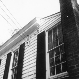 Exterior detail, Sans Souci, Hillsborough, North Carolina
