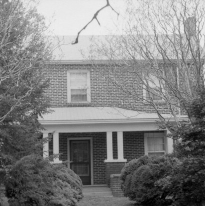 Front view, Eddins House, Palmerville, North Carolina