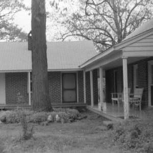 View, Eddins House, Palmerville, North Carolina