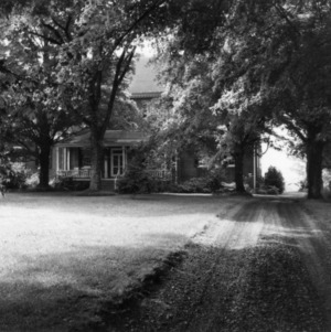 Front view, Ayr Mount, Hillsborough, North Carolina
