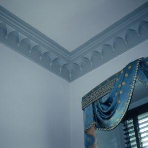 Interior detail, Ayr Mount, Hillsborough,  Orange County, North Carolina