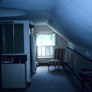Interior view with window, Ayr Mount, Hillsborough,  Orange County, North Carolina