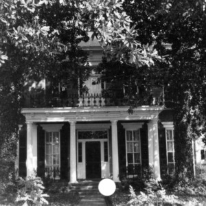 Front view, Kyle House, Fayetteville, North Carolina