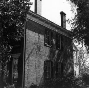 Partial view, Kyle House, Fayetteville, North Carolina