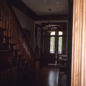 Interior view, Dodd-Hinsdale House, Raleigh, Wake County, North Carolina