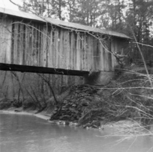 Partial view, Bunker Hill Covered Bridge, Catawba County, North Carolina