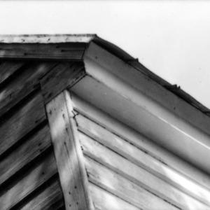 Exterior detail, Richard Rustell House, Beaufort, North Carolina