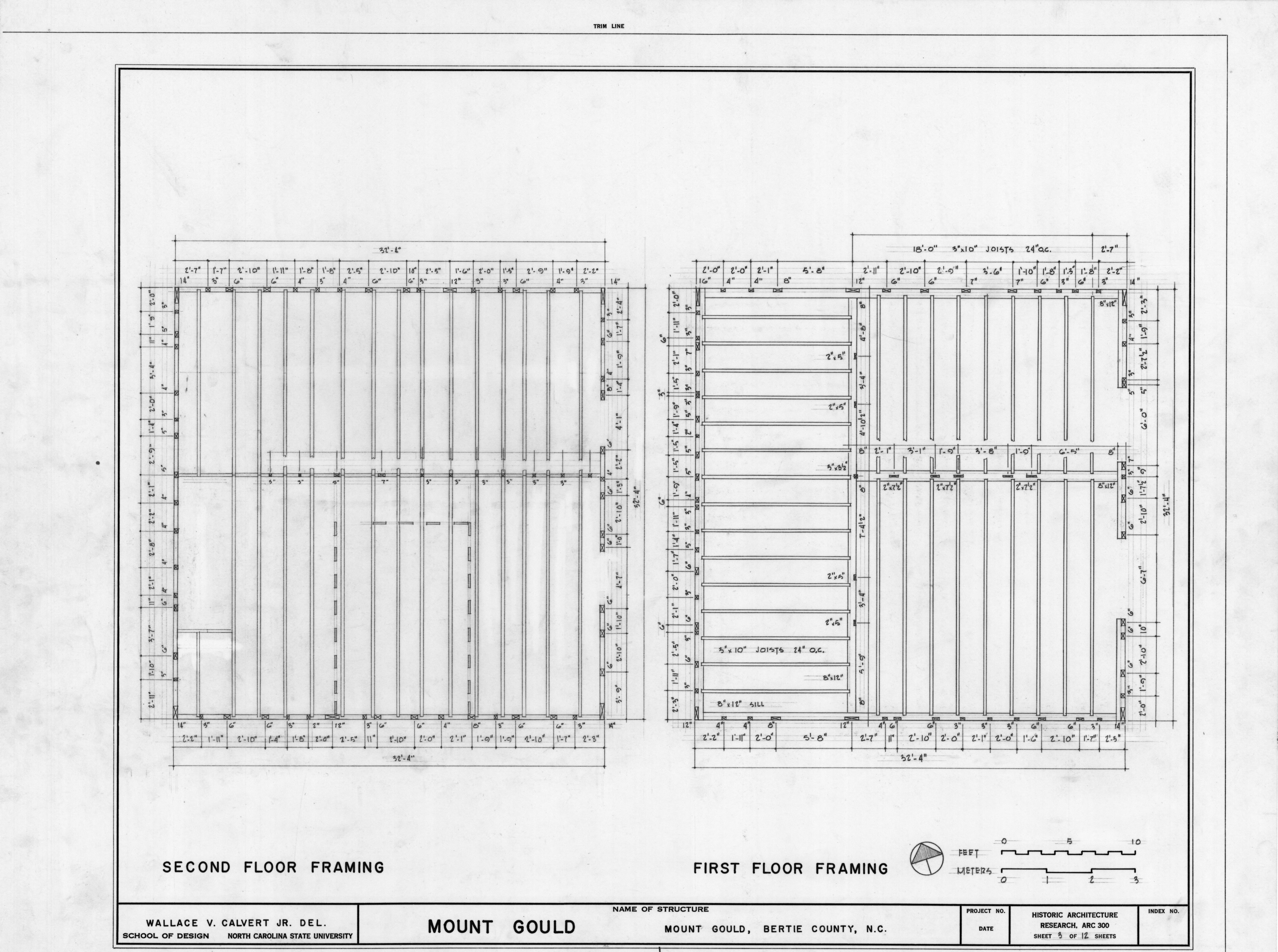 2nd floor framing plan images
