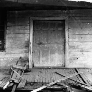 Door, Mount Gould, Bertie County, North Carolina