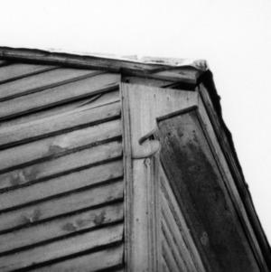 Exterior detail, Mount Gould, Bertie County, North Carolina