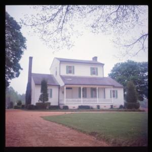 Front view, Moorefields, Orange County, North Carolina
