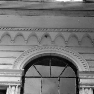 Exterior detail, Collins House, Franklin County, North Carolina
