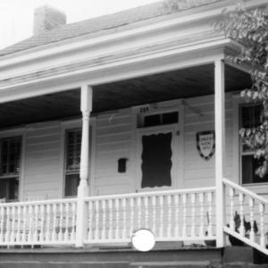Porch, Longest House, Beaufort, North Carolina
