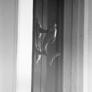 Door detail, Leecraft House, Beaufort, North Carolina