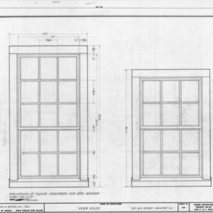 Window details, Jesse Piver House, Beaufort, North Carolina