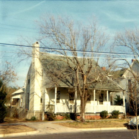 Front view, Jesse Piver House, Beaufort, North Carolina