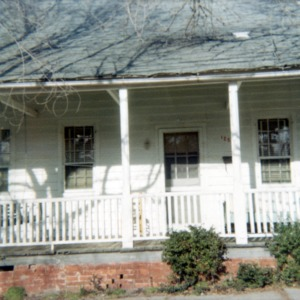Partial view, Jesse Piver House, Beaufort, North Carolina