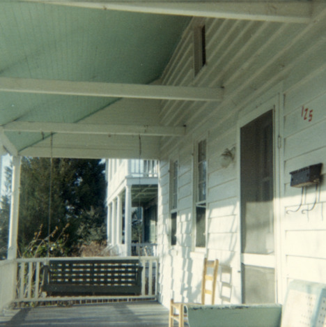 Porch, Jesse Piver House, Beaufort, North Carolina