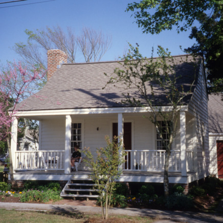 Front view, Jesse Piver House, Beaufort, Carteret County, North Carolina
