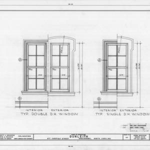 Window details, Dunleith, Greensboro, North Carolina