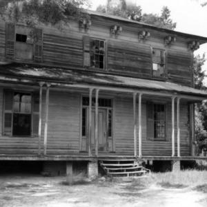Front view, Norwood Plantation, Wake County, North Carolina