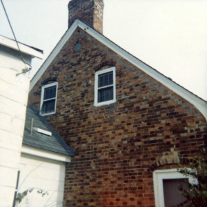 Partial view, Haley House, High Point, North Carolina