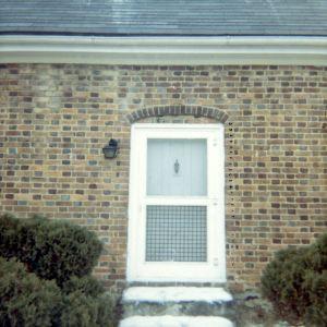 Door, Haley House, High Point, North Carolina