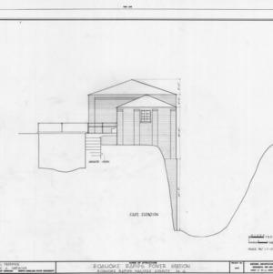 East elevation, Roanoke Navigation Canal Power Houses, Roanoke Rapids, North Carolina
