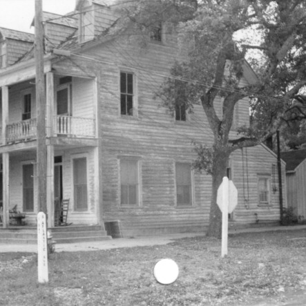 Side view, Walker-Pyke House, Southport, North Carolina