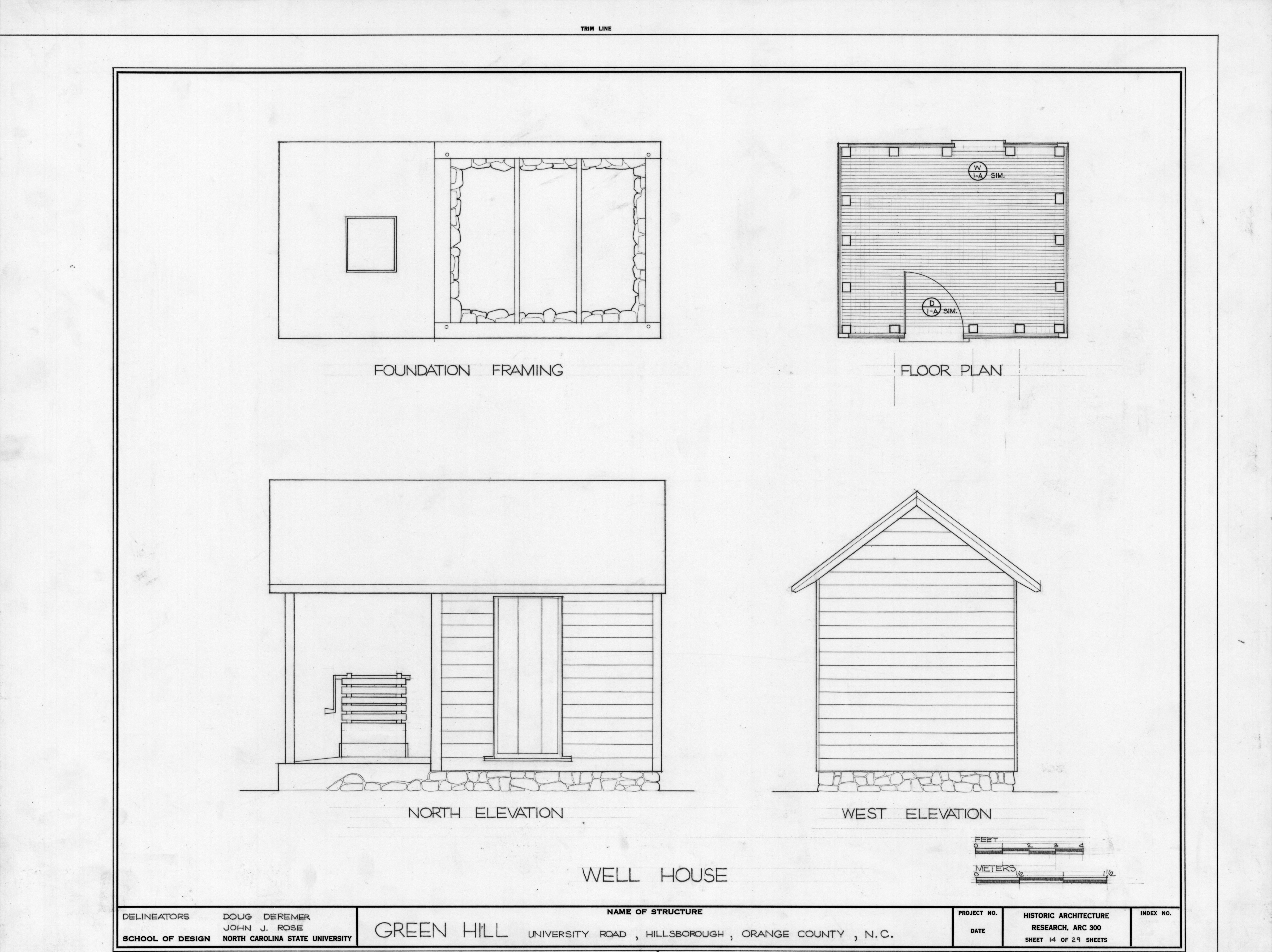 Well house plans and elevations green hill hillsborough for Digital house plans