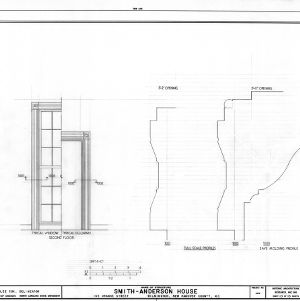 Details, Smith-Anderson House, Wilmington, North Carolina