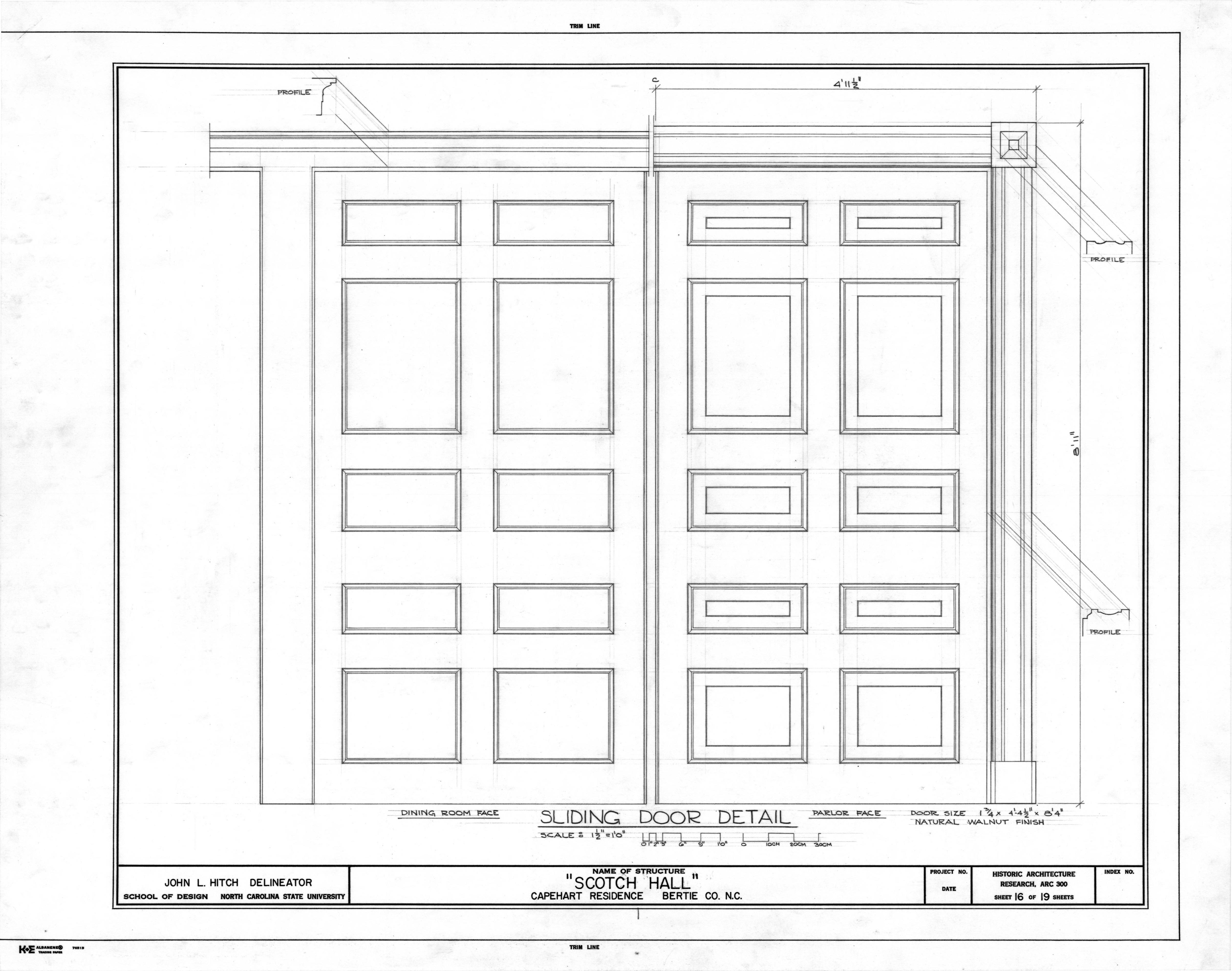 Cabinet Sliding Door Detail Drawing Pictures of Sliding Door