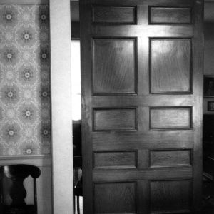 Doorway, Scotch Hall, Bertie County, North Carolina