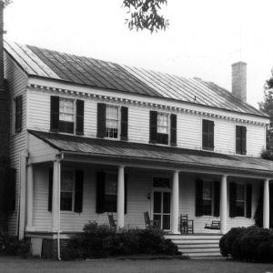 Front view, Scotch Hall, Bertie County, North Carolina