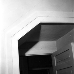 Doorframe detail, Scotch Hall, Bertie County, North Carolina