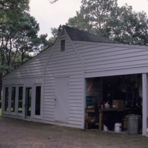 Garage, Scotch Hall, Bertie County, North Carolina